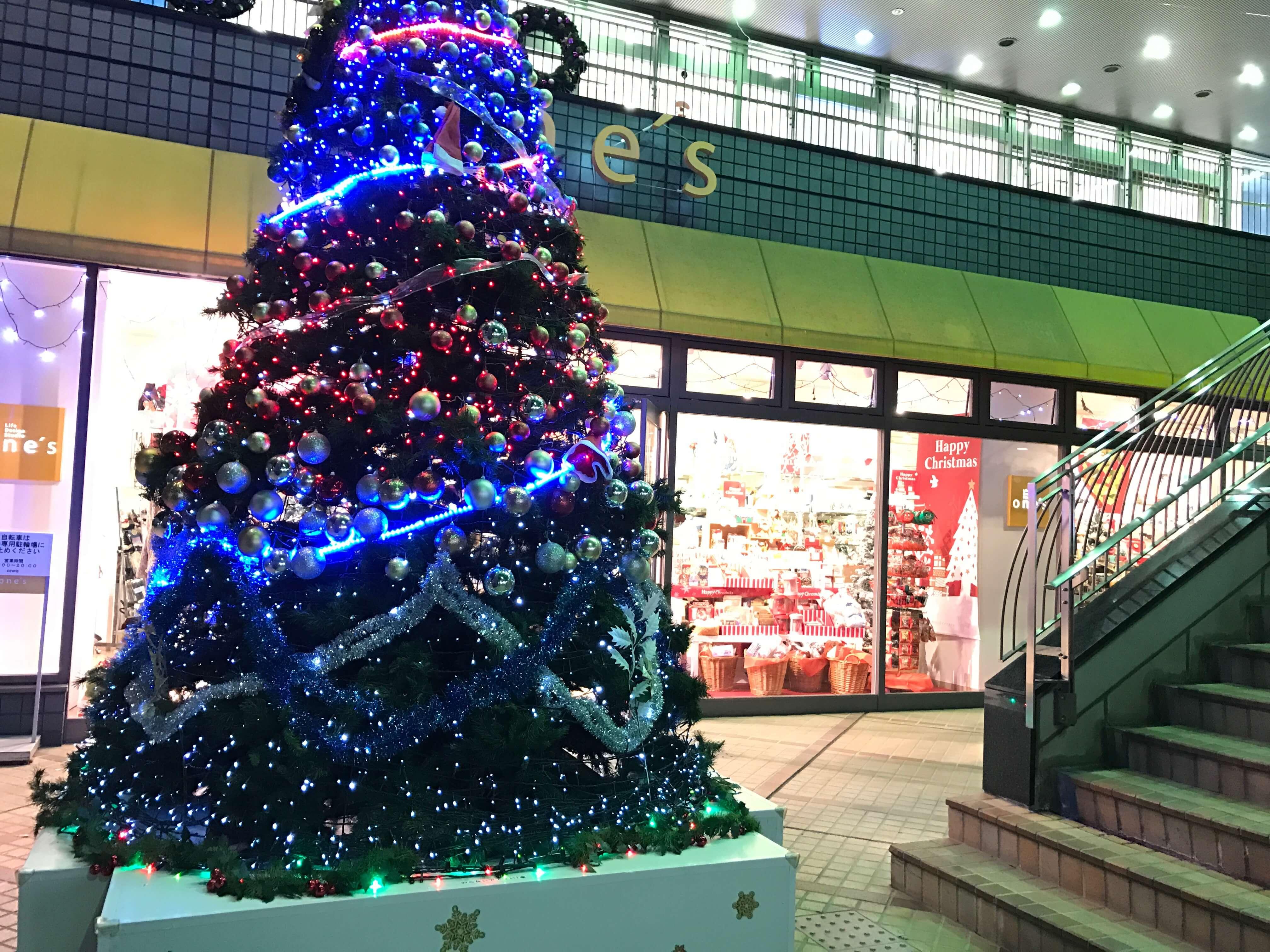 仙川で大きいツリー