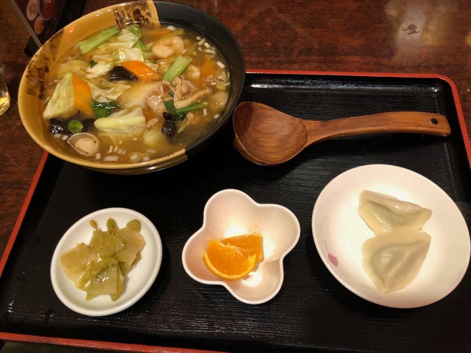 野菜タンメンセット