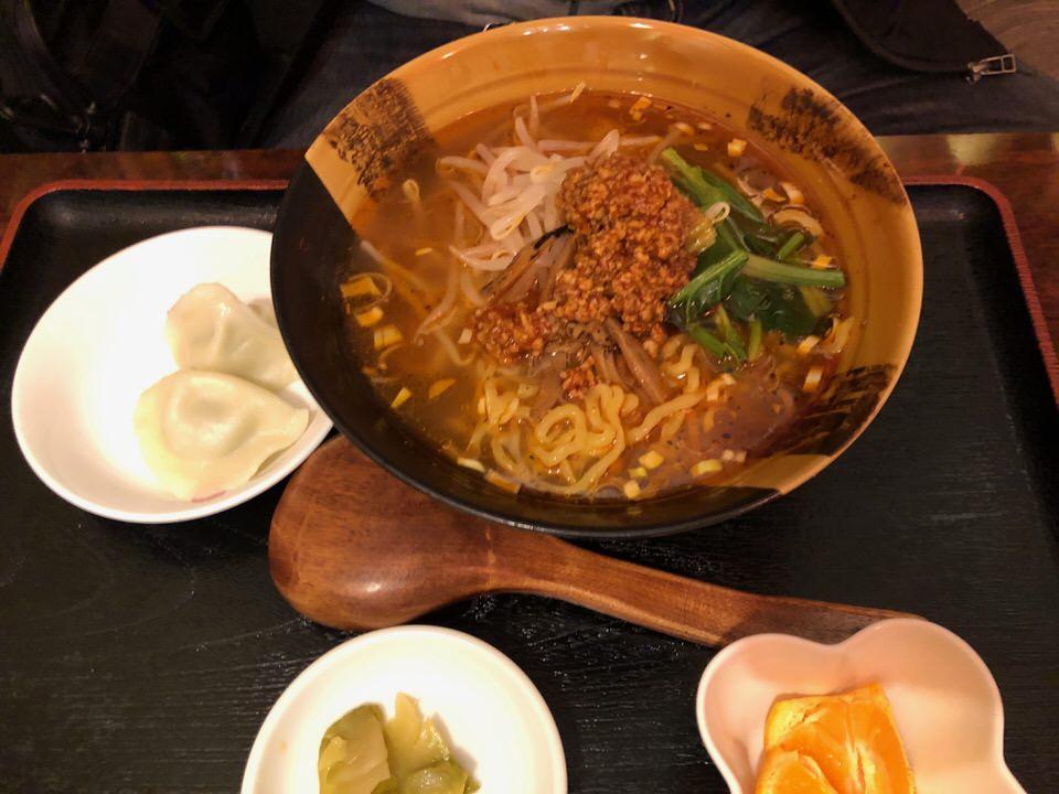 辛子麺セット