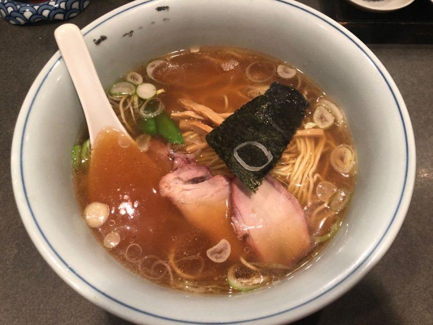 仙川であっさり食べられるラーメンは「めでた屋」の支那そば